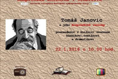 Pozvanka Tomas Janovic