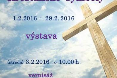 pozvánka na kresťanské symboly