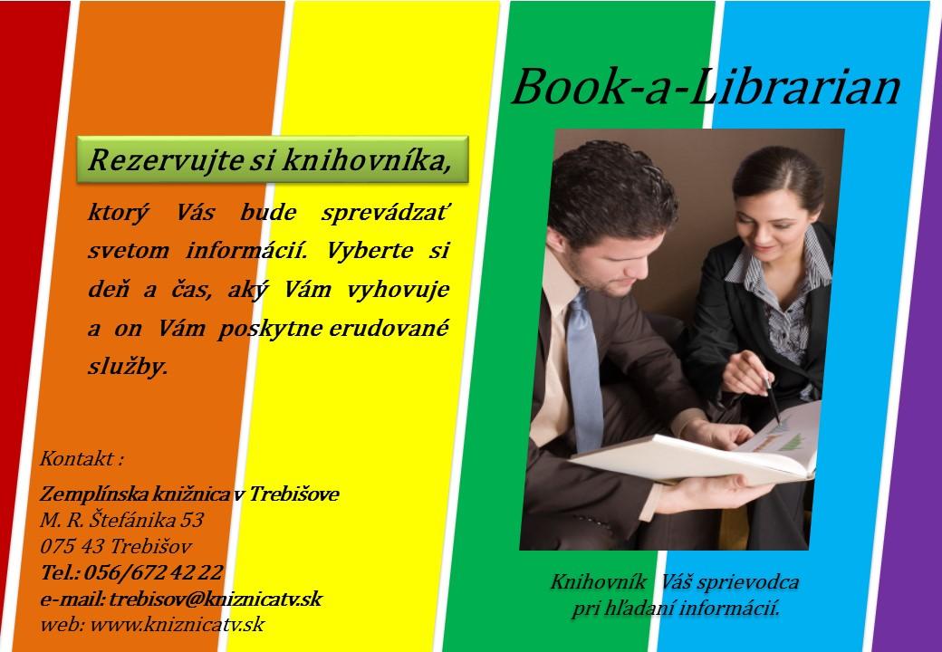 Book-a- Librerian nova sluzba