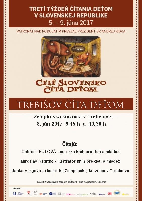 Cele Slovensko číta detom