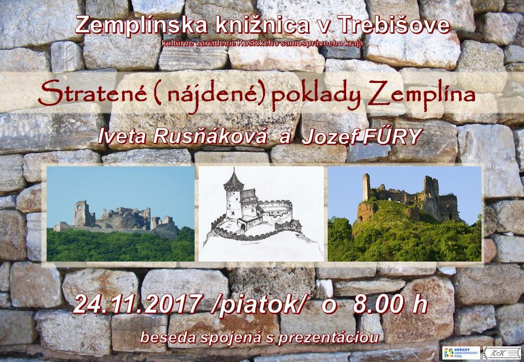 Sprievodca hradmi Zemplína POZVANKA