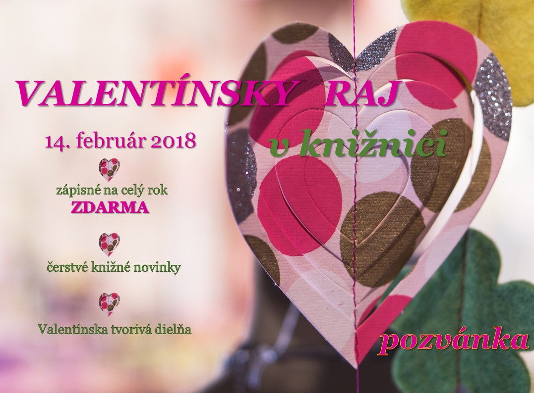 valentín pozvanka naš web