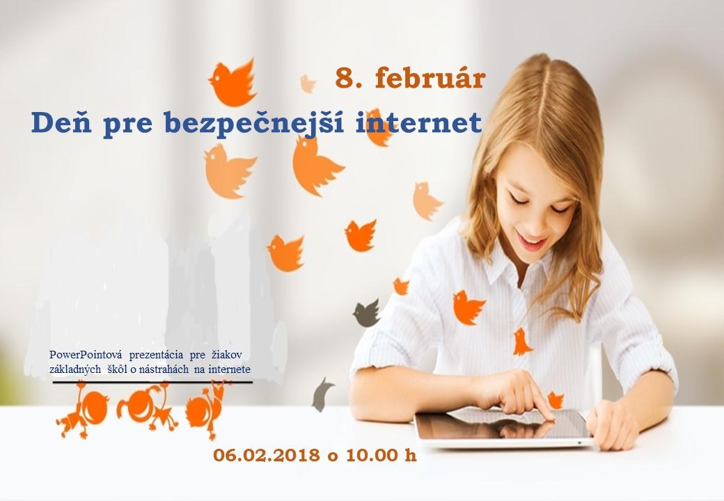 bezpečný internet pozvánka naš web
