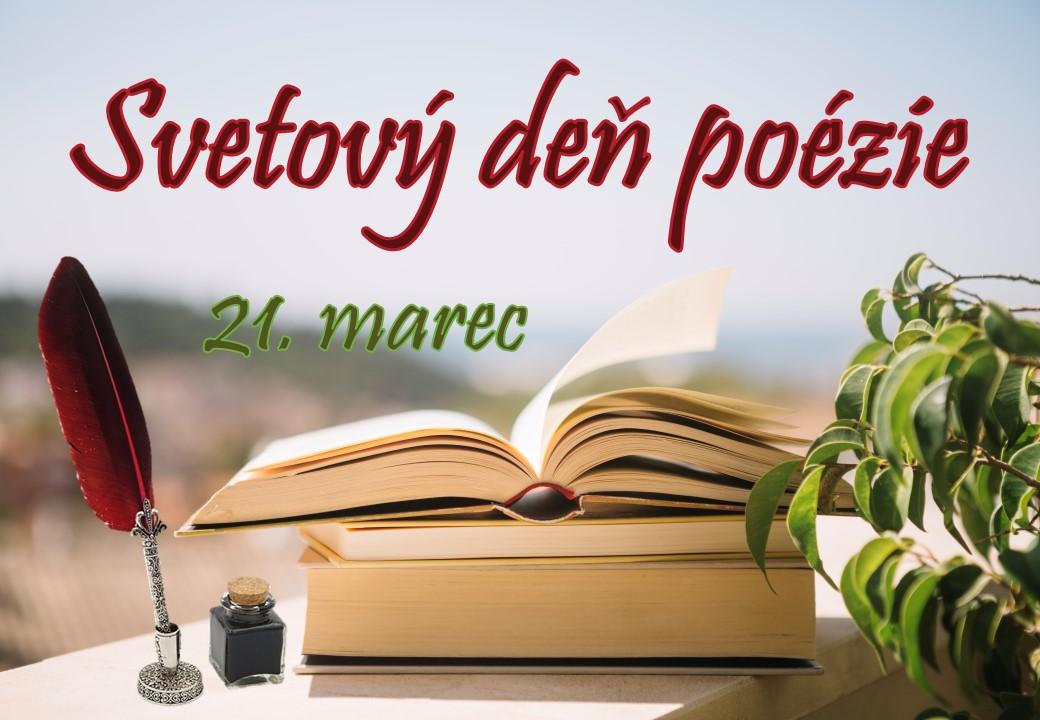 svetový deň poézie 21. marec
