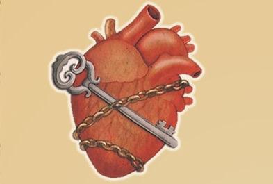 srdce na klúč