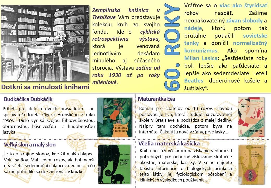 Dotkni sa minulosti knihami 60 roky_1 čast