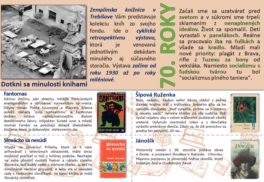 Dotkni sa minulosti knihami 70