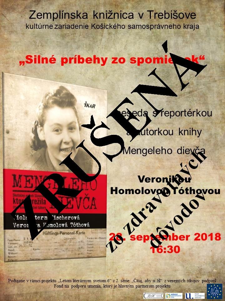Veronika Homolová Tóthová - mengeleho dievča