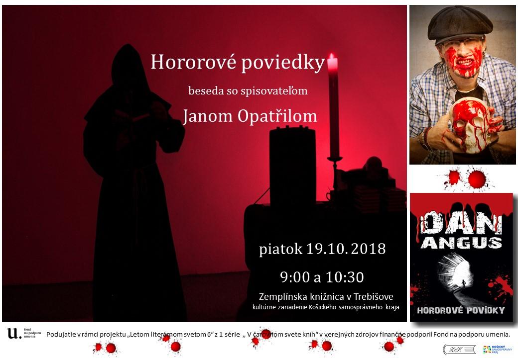 Jan Opatřil - pozvánka