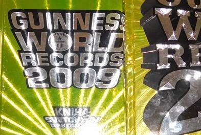 den guinnessových rekordov