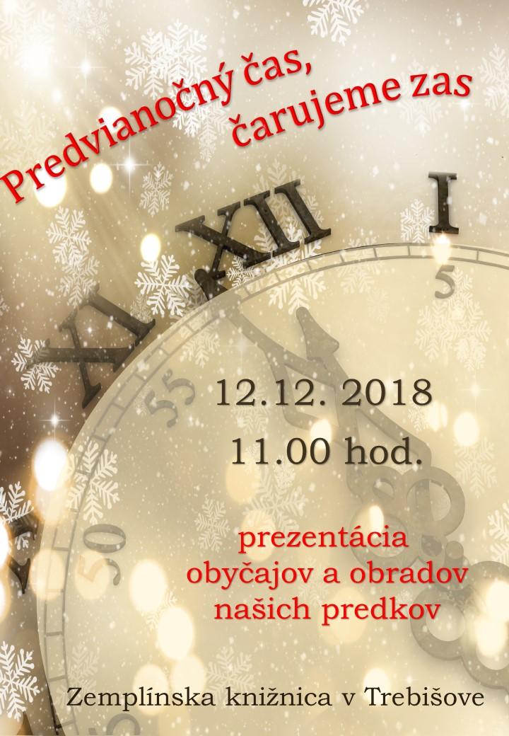 Predvianočný čas pozvánka