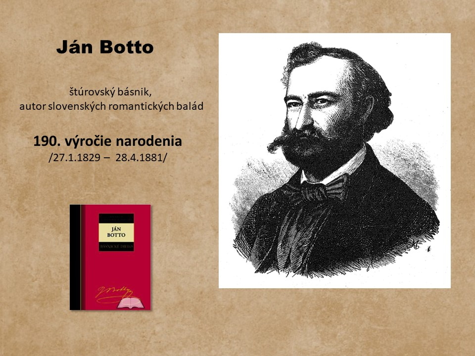 plagátik J. Botto