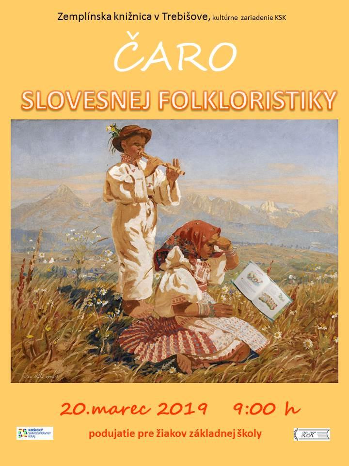 Čaro slovesnej folkloristiky pozvanka