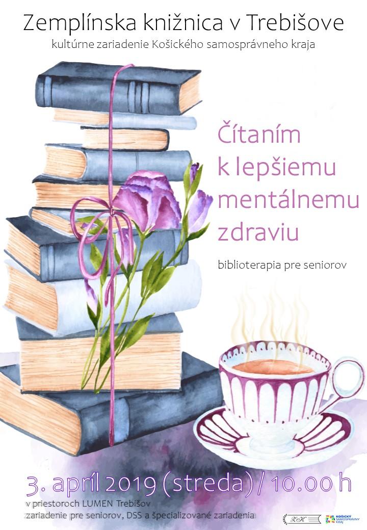 Čítaním k lepšiemu mentálnemu zdraviu