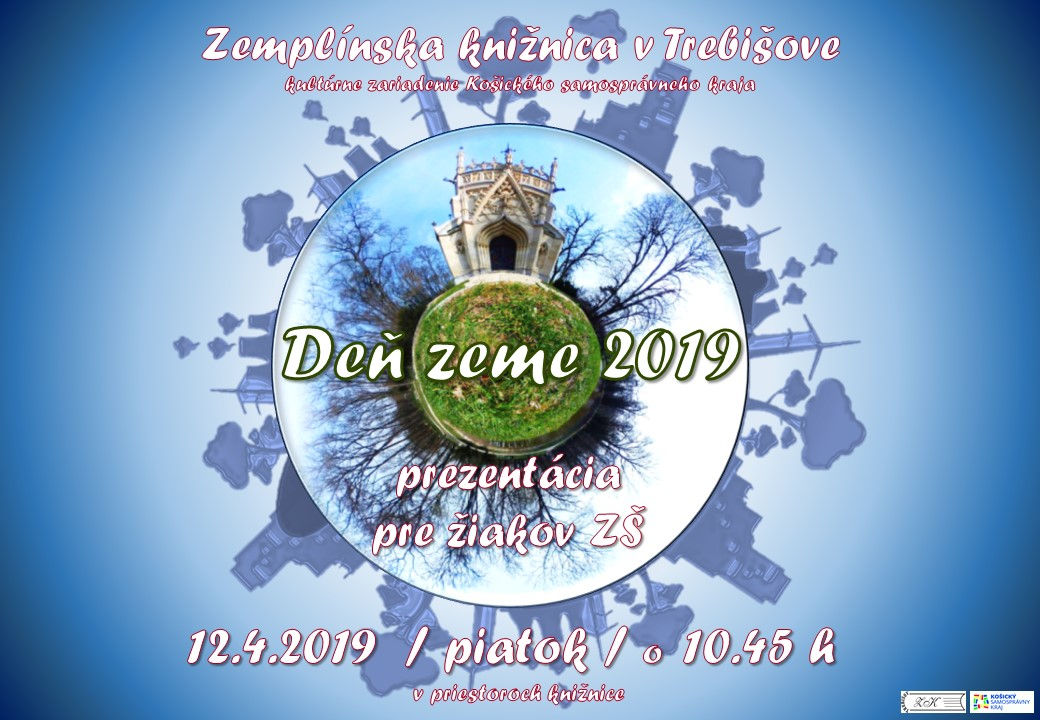 Deň Zeme 2019 pozvanka