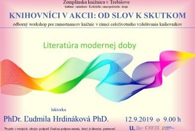 Literatúra modernej doby Knihovníci v akcii pozvanka