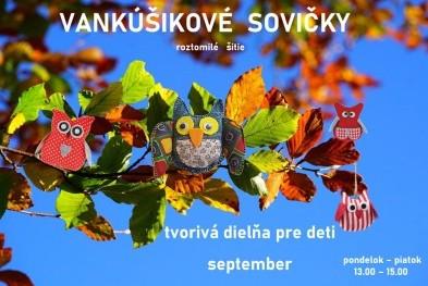 Tvorivá dielňa september pozvánka