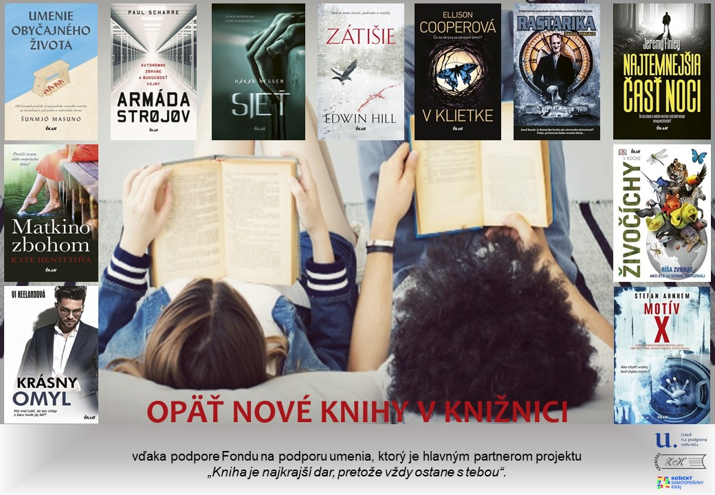 nové knihy za 2019 august OZNAM