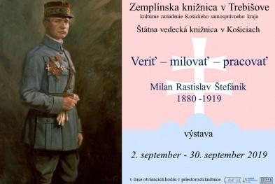 výstava Štefánik z ŠVK pozvánka