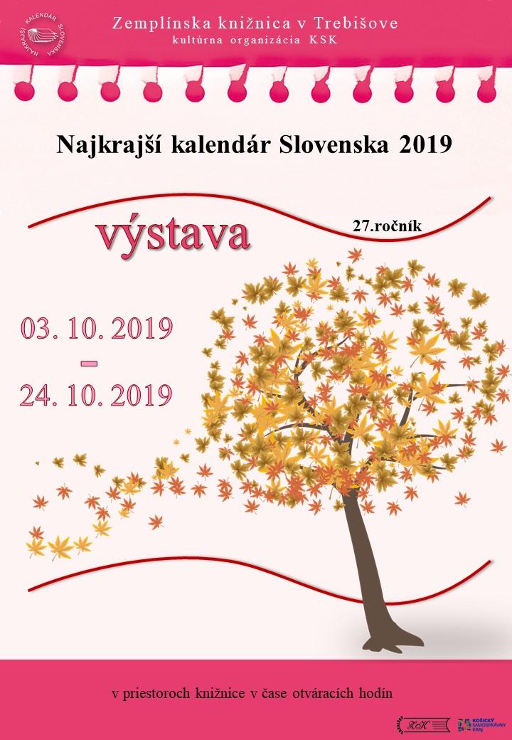 Najkrajšie kalendáre 2019 pozvanka
