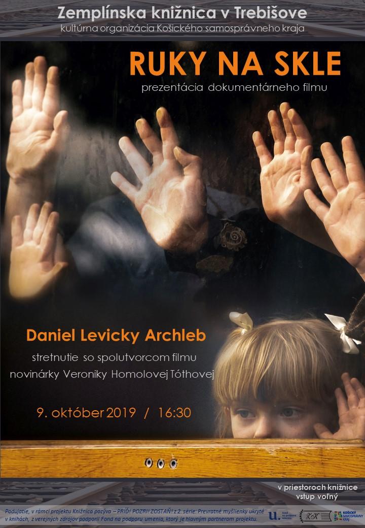 Ruky na skle ARCHLEB pozvanka