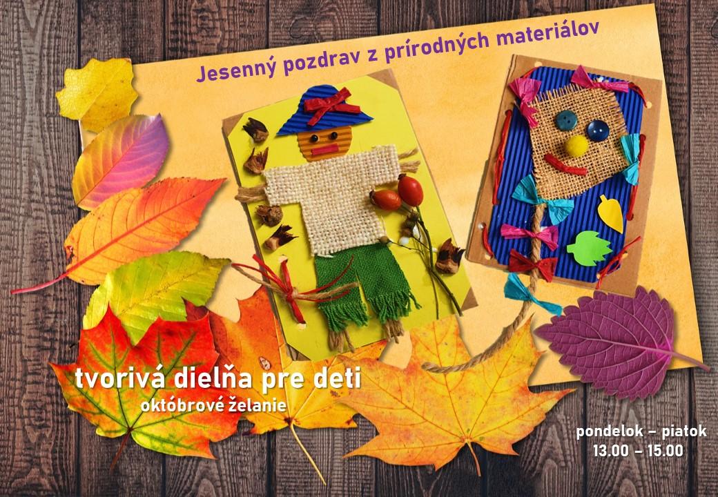 Tvorivá dielňa október