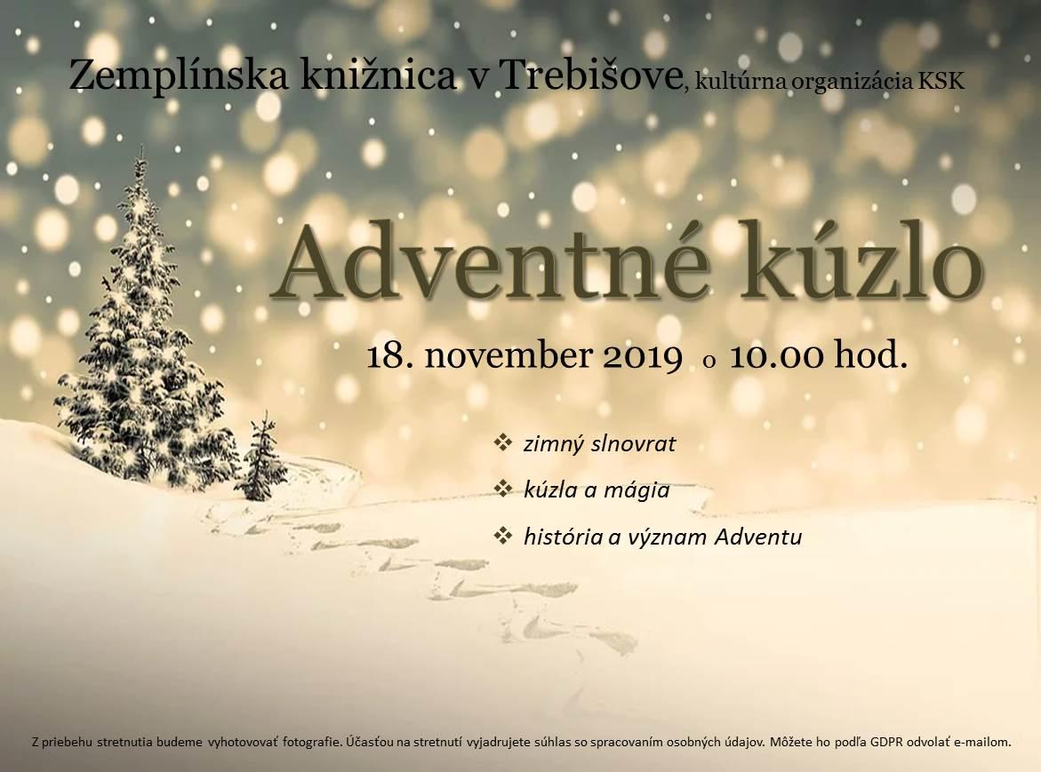 Adventné kúzlo_pozvánka