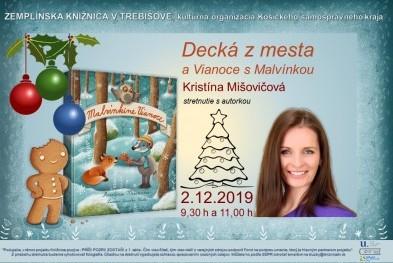 Kristína Mišovičová - pozvánka beseda
