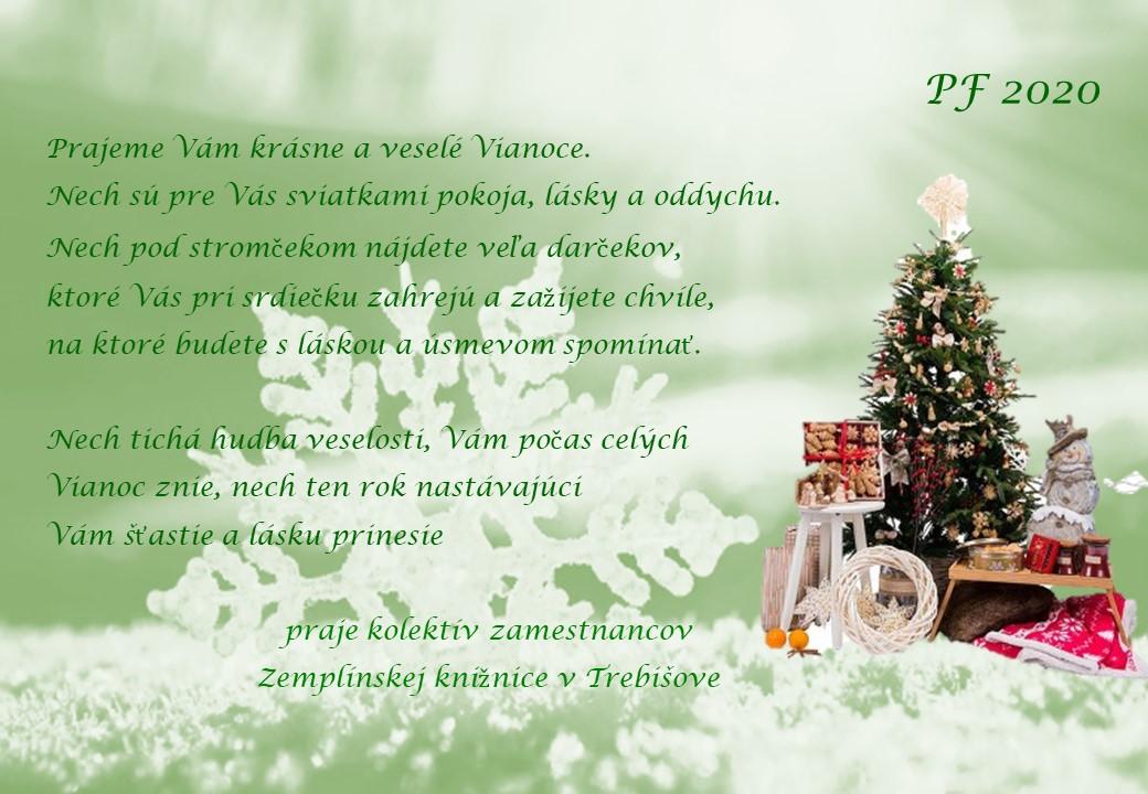 Vianočné blahoželanie