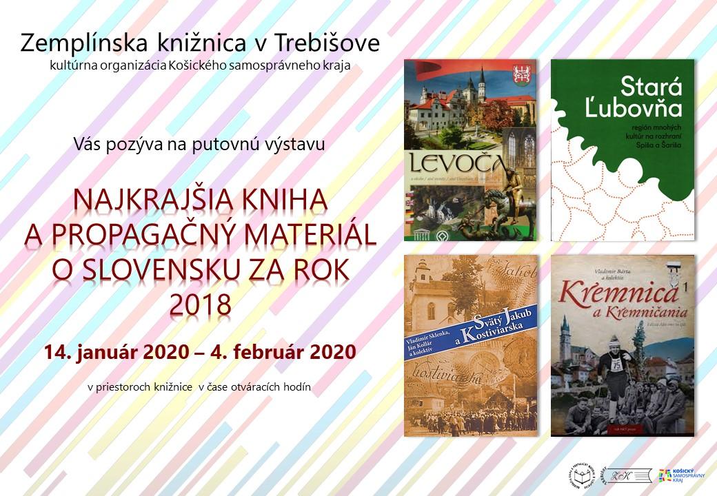Najkrajšia kniha_výstava pozvánka