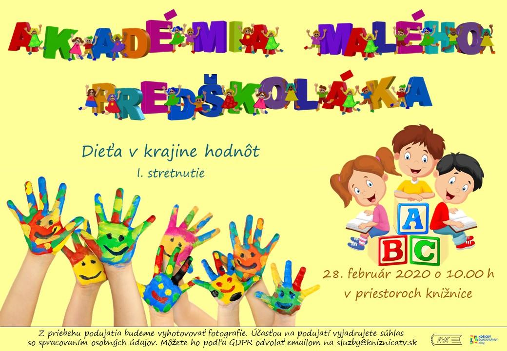 Akademia malého predškoláka
