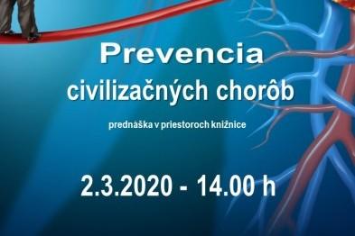 prevencia civilizačných chorôb