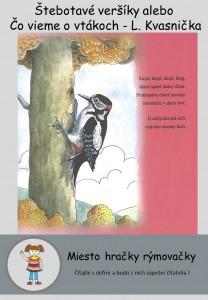 Štebotavé veršíky alebo Čo vieme o vtákoch - L. Kvasnička 4