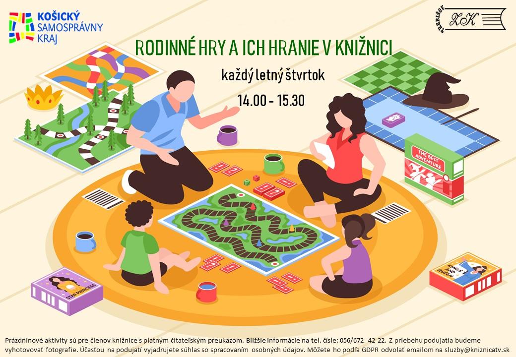 Rodinné hry a ich hranie v knižnici_štvrtky