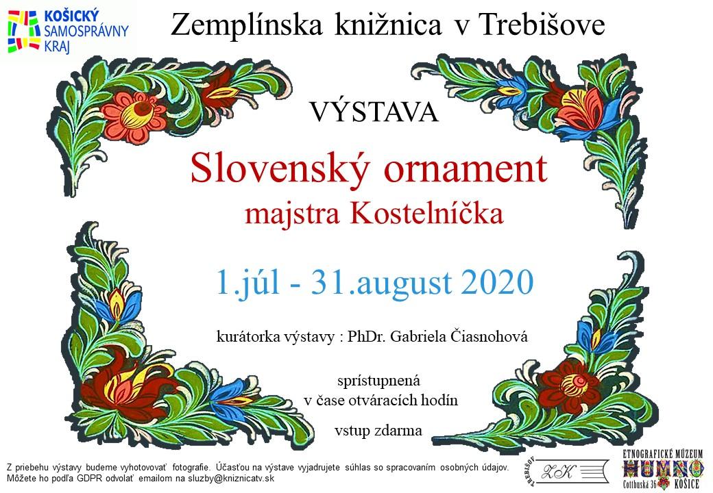 Výstava Slovenský ornament_pozvanka