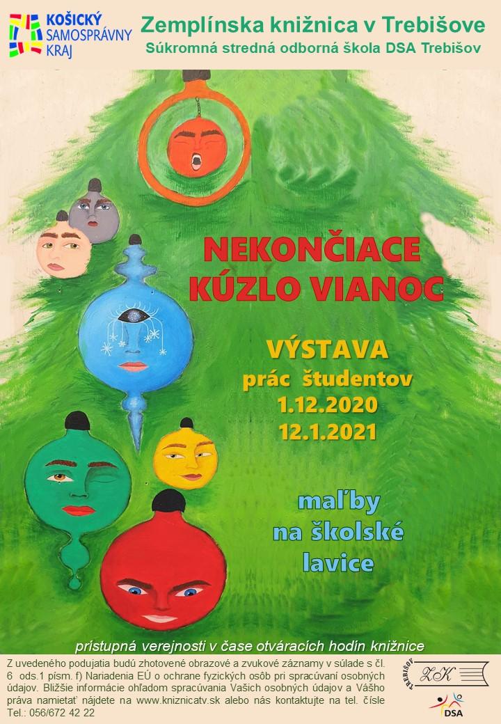výstava_pozvanka Nekončiace kuzlo Vianoc